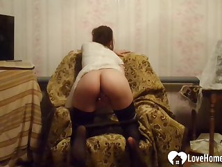 Armchair is put emphasize most comfy for some fingering