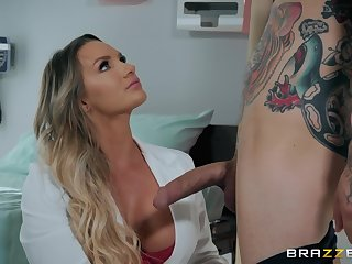 Cali Carter spreads her legs for a friend's hard horseshit beyond everything the bed
