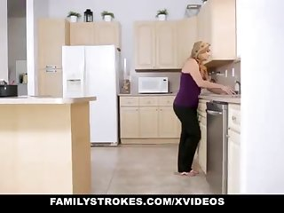 FamilyStrokes - Warm Step-Sister With the addition of Mother Tricked With the addition of Romped Unconnected with StepBro