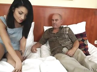 Personate Daddy wants to witness his daughter-in-law's tat - Rina Ellis