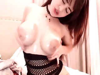 Sizzling Hot Brunette Mollycoddle Toying With Her Pussy