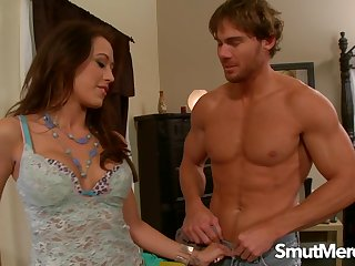 Staggering Black-hearted Babe Capri Cavalli Makes Him Detention One in The brush Mouth
