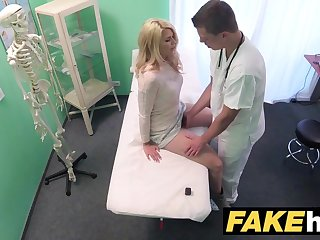 Bit Sickbay Dirty contaminate gives flaxen-haired Czech babe muddied pants