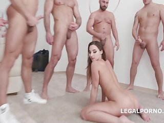 Gangbanged Hotness Girl - FUCK MOVIE