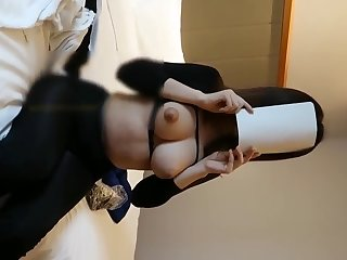Good-looking tits chinese nude model Xiao Yu sexy portrait video