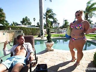 Tiffany Star - Pawg Poolside Getting Laid