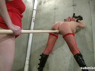 Dirty lesbian video with BDSM torture - Bella Vendetta and Twenty