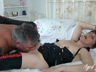 AgedLovE British Grown up Got Licked and Fucked