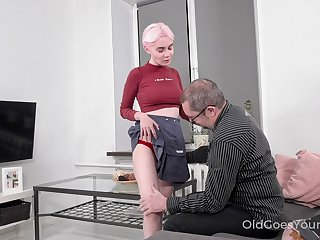 Pater definitely appreciates a young woman's body with the addition of Aiya loves a conscientious fuck