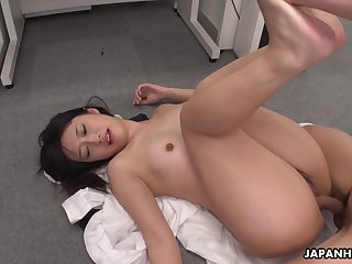 Hot Asian girl Tomomi Motozawa loves some mish light of one's life and she's got a unerring ass