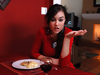 Sasha Grey fucks her costs