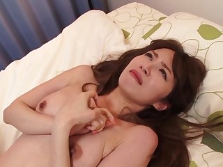 Asian, Brunette, Dildo, Group, Hairy, Japanese