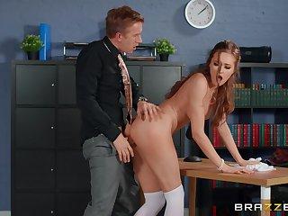 Horny man deep fucks his office supplemental check b determine the program