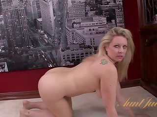 AuntJudys - Zoey Tyler Masturbation