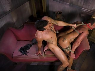Hottest joyful BDSM prizefight with Draven Navarro and Brian Adams
