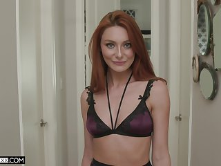 Bodacious redhead Lacy Lennon leaves a lasting discouragement