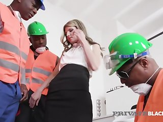 Broad in the beam Black Cock Orgy With Dpd Gina Gerson!