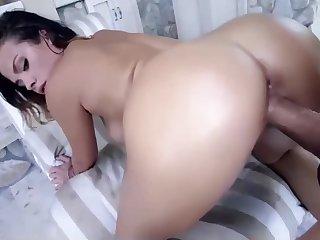 Big Ass Slut Fucks A Colossal Cock. Cum In Mouth. Amateur Slut