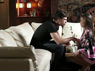 Screaming Asian catholic receives way soft spot cock for how tight she is