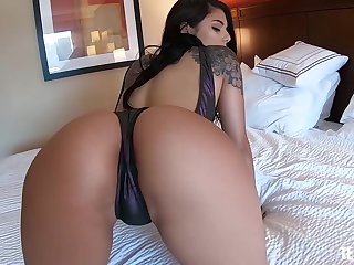 Lovely Gina Valentina gets her tight cunt banged non-native treacherously